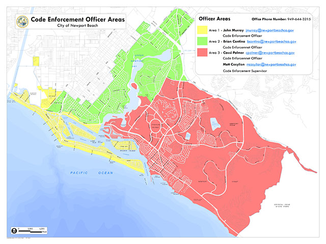 Code Enforcement Officer Areas