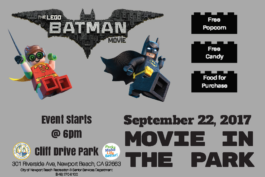 Movie in The Park - Batman Lego Movie