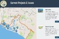 Current Projects & issues Map