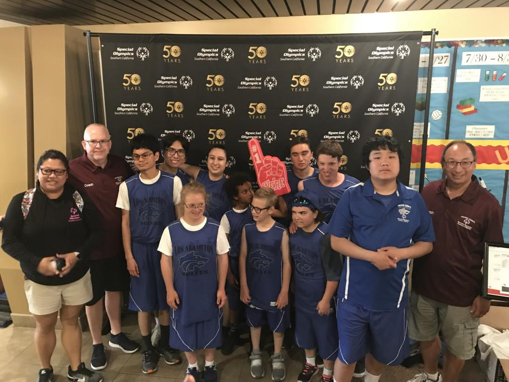 Another Special Olympics basketball team 2018