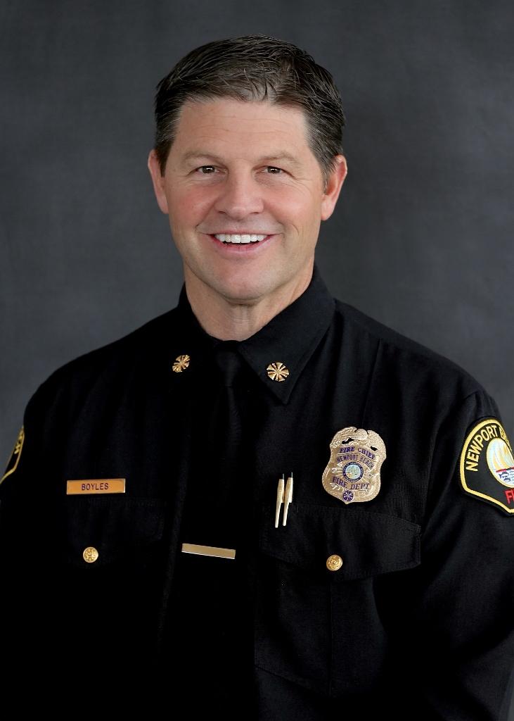 Fire Chief Jeff Boyles