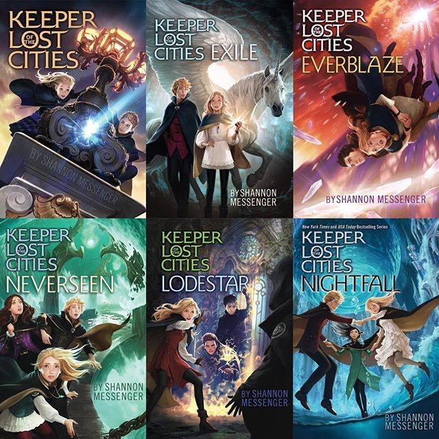 Keeper of the Lost Cities series